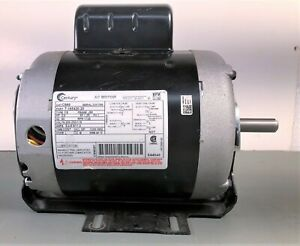 Century AC 3/4 H.P. Single Phase Motor J56 Frame - Excellent to New Condition