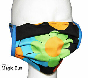 Nasen-/Mundmaske Design MAGIC BUS - Spuckschutz -