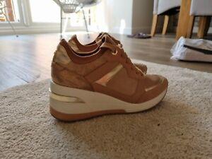 Dune  ladies high heel trainers, size 6