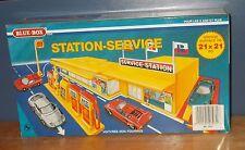 Estación de servicio de caja azul 7031 Vintage Matchbox MG-1 copia