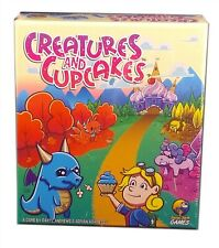 Social Sloth Games, Creatures and Cupcakes Board Game, New And Sealed