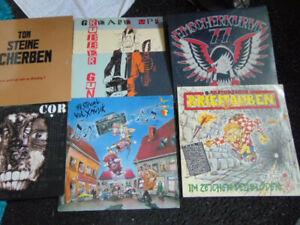 6x Punk - LPs - Ton Steine Scherben - u.a.