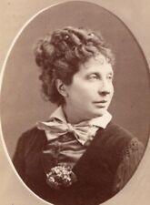 Favart actress Comedie Française old CDV Photo 1870'