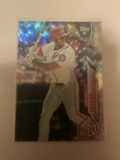2020 Topps Michael Taylor 581 Foilfractor 1/1 One of One Nationals card