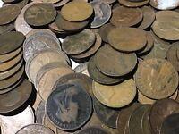 20 Stück Umlaufmünzen Pennys Großbritannien gemischt