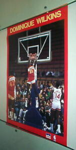 DOMINIQUE WILKINS Vintage Basketball Poster