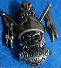 CARDIFF WALES KING ARTHUR MEDIEVAL KNIGHT SILVER SKULL SERIES Hard Rock Cafe PIN