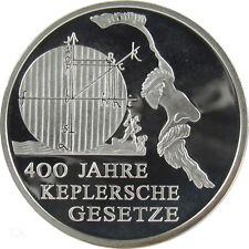 *** 10 Euro DEUTSCHLAND 2009 400 Jahre Keplersche Gesetze Spiegelglanz PP Silber