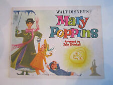 (4) PIANO SONGBOOKS: MARY POPPINS, FIDDLER ON THE ROOF, JESUS CHRIST - TUB ABA