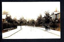 Hale - Hazelwood Road - real photographic postcard
