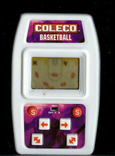 COLECO BASKETBALL MINI ELECTRONIC HANDHELD LCD TOY TRAVEL GAME BALL SMALL BABY