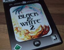 BLACK & WHITE 2 PC Kult Black and White 2  Deutsch !!!!