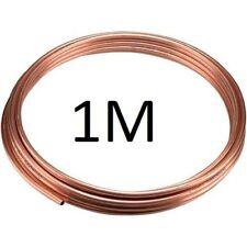 NUOVO 6mm Diametro Esterno microbore RAME IDRAULICA RISCALDAMENTO TUBO / TUBO X 1 METRO