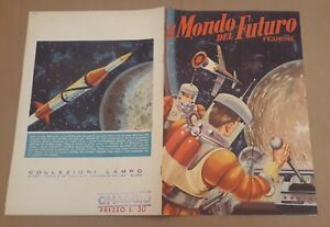 Album Lampo IL MONDO DEL FUTURO (1959) - COMPLETO e PERFETTO - FANTASCIENZA !!!!