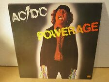 LP 33 giri vinile ACDC POWERAGE ATL 50 483 ROCK' N ROLL DAMNATION GIMME A BULLET
