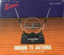 Esaw Indoor TV Antenna FM-VHF-UHF