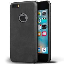 Handy Tasche Apple iPhone 5 5S SE Schutz Hülle Back Case Cover PU Leder Schale