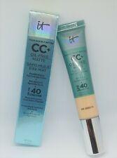 It Cosmetics CC+ Oil-Free Matte Poreless Finish Full Coverage Skin Loving Cream