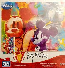 Disney Expressions Mega Family Fun Sized Puzzles-300 Pieces-Micky In Thought