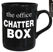 The Office Chatterbox Mug Tea Coffe Cup Colleague Present Gift Secret Santa Xmas