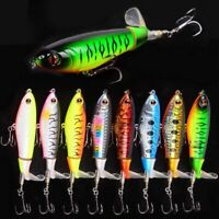 Whopper Plopper musky topwater fishing lures Bass fishing baits with VMC hook