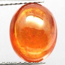 TOP SPESSARTINE : 5,37 Ct Natürlicher Orange Spessartin / Spessartit Granat