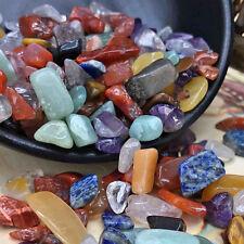 100g Colorful Natural Quartz Crystal Mini Stone Rock Chips Healing Specimens Lot