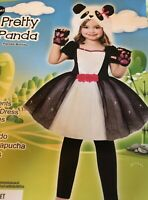 Goodmark Pretty Panda Toddler Halloween Costume 2T