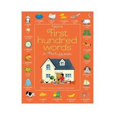 Usborne First Hundred Words in Portuguese by Heather Amery, Stephen Cartwrigh...