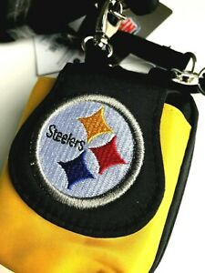 Pittsburgh Steelers Plus Touch Phone ID Wallet CHARM 14 Gift Bag Compact