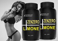 ZENZERO+LIMONE+POMPELMO A.I.F. 120cpr (2 mesi) FAT BURNER TRIPLA AZIONE! Detox