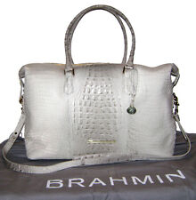 New! Brahmin Paloma Melbourne Leather Duxbury Weekender NWT $495