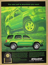 2000 Nissan Xterra Stillen Supercharger photo BF Goodrich Tires print Ad