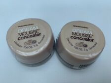 2x Maybelline Dream Mousse CONCEALER Light 0-1 Brand New 3g Each