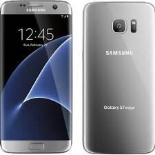 New Verizon Samsung Galaxy S7 edge G935V 32GB Silver Straight Talk Unlocked
