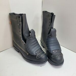 HY-TEST Mens SZ 11 3E 1102 684 Super-Guard Leather Steel Toe Safety Boots
