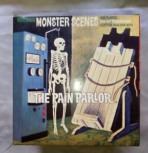 Moebius/Aurora Monster Scenes Pain Parlor opened and complete