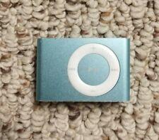 Apple iPod Shuffle 1GB A1204 Light Blue 2nd Gen Tested Works VG Shape w/Music
