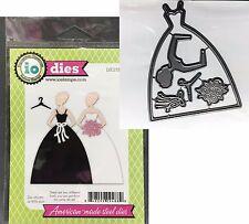 Wedding Gown metal Die Set Impression Obsession cutting dies Die272 dress