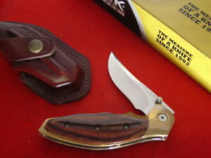 "Buck USA Made 419 Folding Kalinga 5.25"" Linerlock Lock Blade 2008 knife MINT"