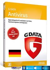 G data anti virus 2018 versión completa 1 PC & Manual (PDF) descarga nuevo