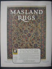 1925 Masland Argonne Rugs Carpet Home Decor Full Color Vintage Print Ad 11879