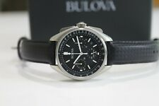 BULOVA Special Edition Chronograph Apollo 15 Mission Moon WATCH 96B251--Mint