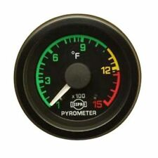 Isspro R3607TR EV1 Series Pyrometer Gauge w/ Color Band 0-1500°F Universal