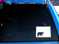 Colorado Bear Hunting State Vinyl Decal Sticker / Color - HIGH QUALITY