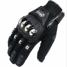 Alloy Steel Knuckle Motorcycle Powersports Racing Tactical Paintball Gloves