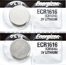 2 x Energizer CR1616 Batteries, Lithium Battery 1616 | Shipped from Canada