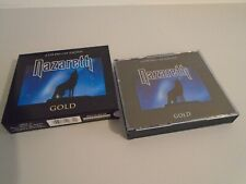 NAZARETH GOLD 2 DISC FAT BOX DELUXE EDITION CD ALBUM SET DEJAVU RETRO GOLD 2003
