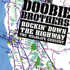 THE DOOBIE BROTHERS - ROCKIN' DOWN THE HJIGHWAY  2 CD NEUF