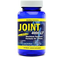 Maximum Strength Glucosamine Chondroitin MSM Joint 4000-LT Pain Relief 60 Tabs